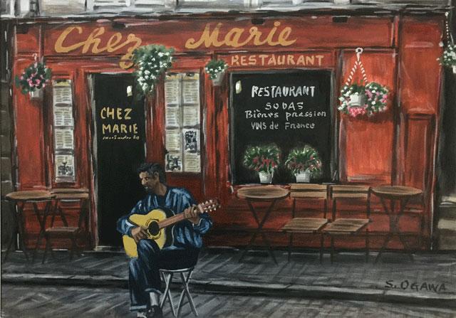 カフェ Chez Marie