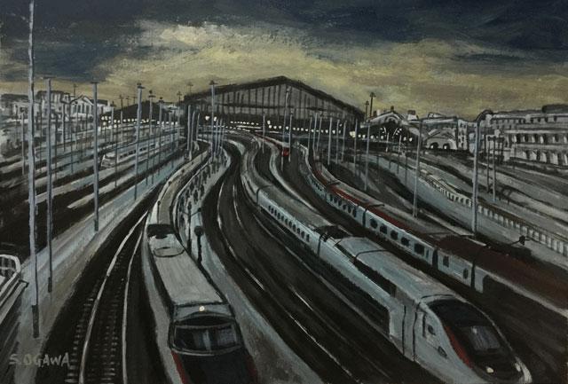 パリ北駅国際列車