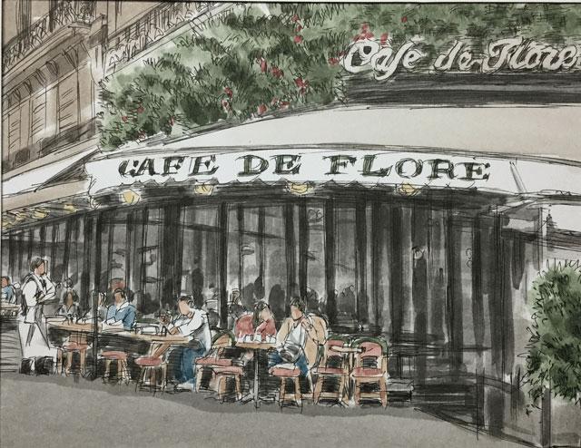 カフェ・ドゥ・フロール