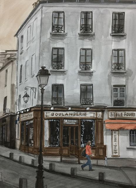裏通りのパン屋