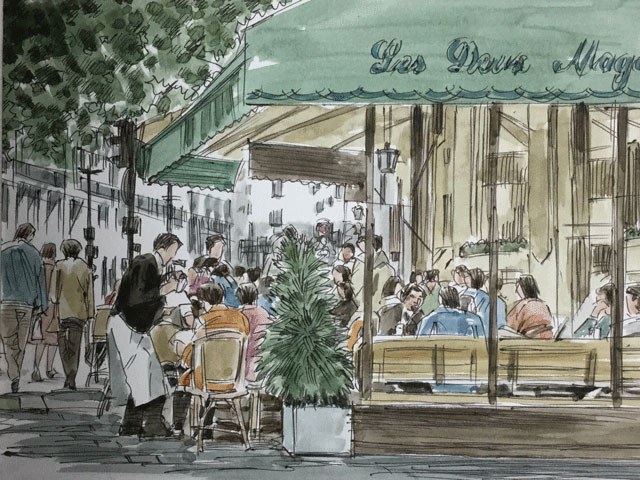 カフェ・ドゥ・マゴ
