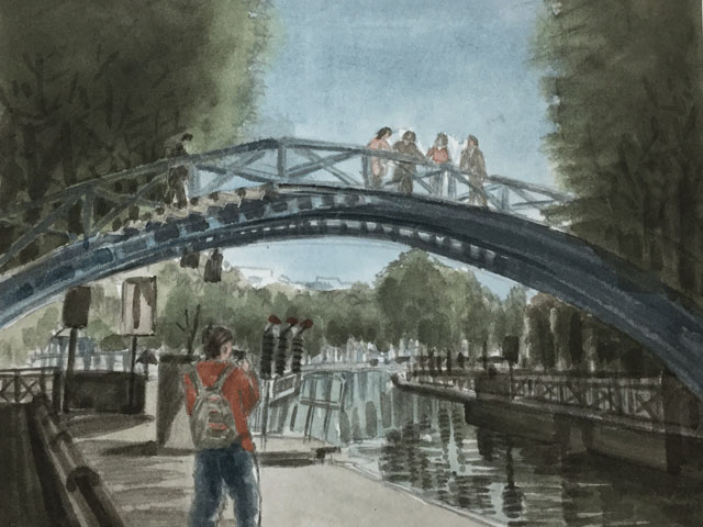 サンマルタン運河の橋