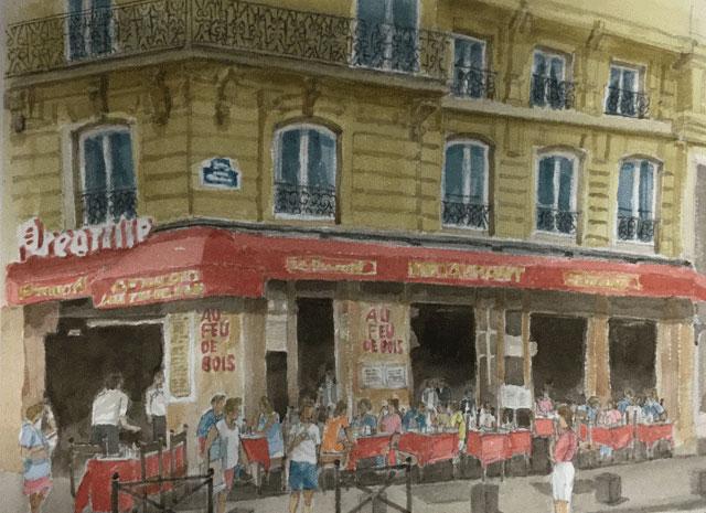 サンジェルマン・デ・プレのカフェ