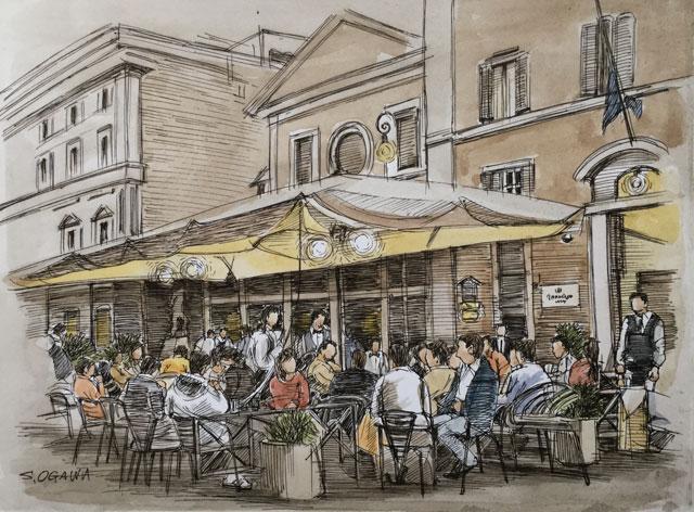 ローマ カフェ