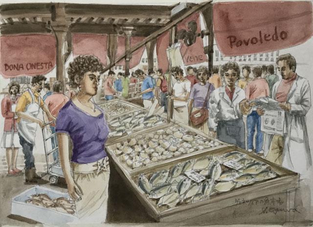 ヴェネツィア 魚屋