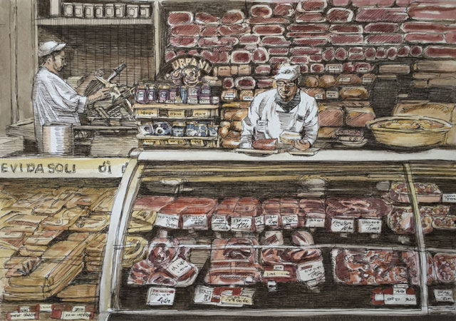 パドヴァ 肉屋