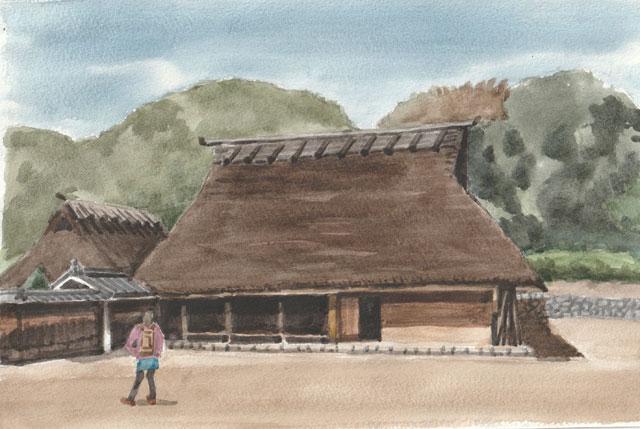 神戸市北区 箱木家住宅