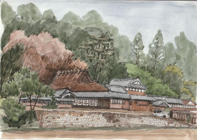 神戸市北区 塩田神社近く