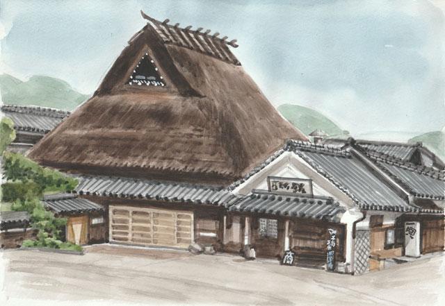 三田市木器(こうづき)岡村酒造場