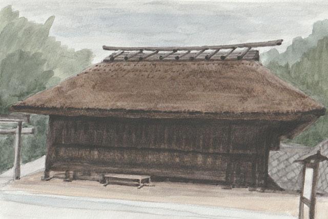 神戸市北区・淡河 農村歌舞伎舞台