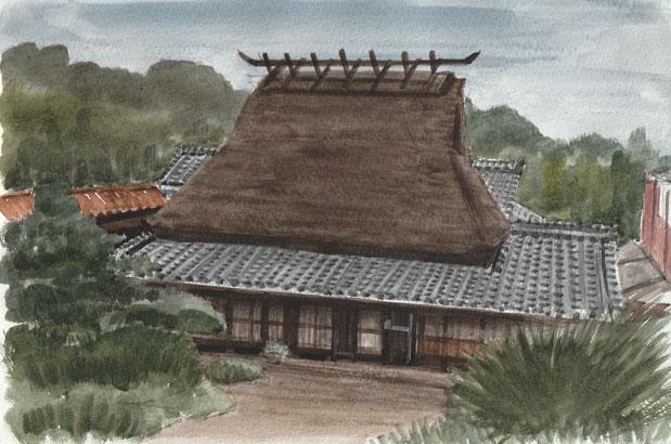 神戸市北区・淡河 山本家